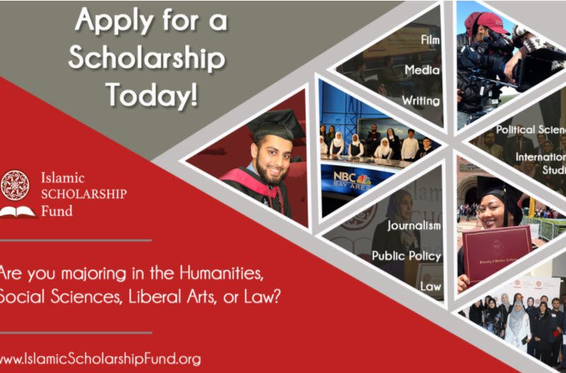 Islamic Scholarship Fund (ISF) helps students pursuing Film, Journalism, Law, & Public Policy