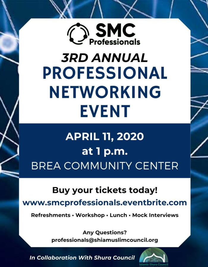 3rd Annual Professional Networking Event