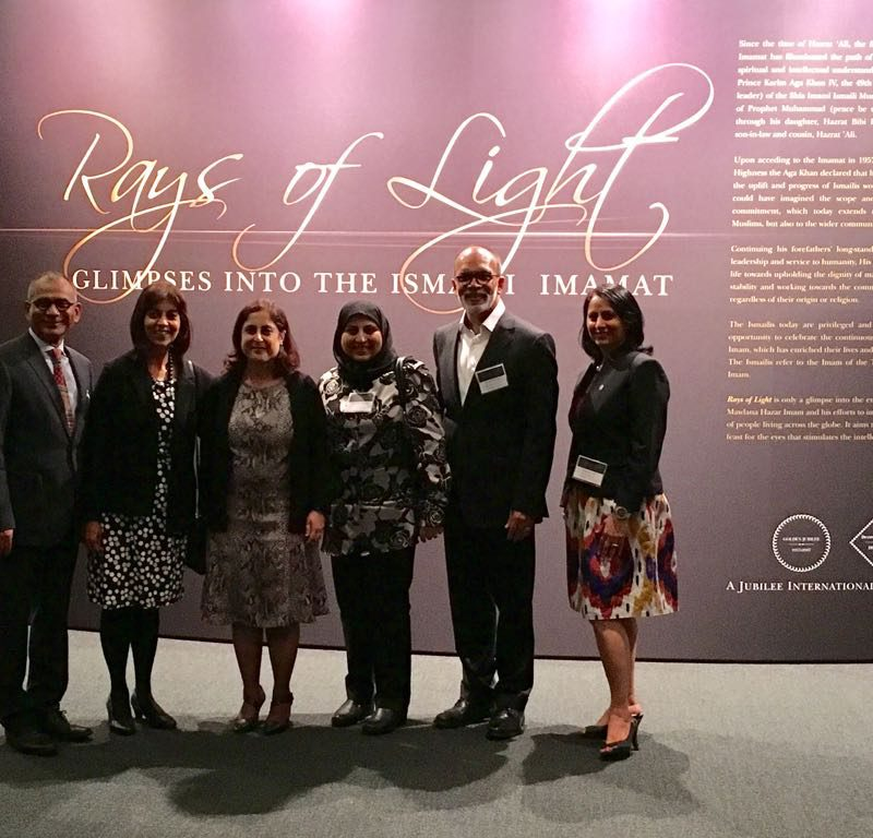 SMC attends Rays of Light Golden Jubilee to Support Ismaili Shia Muslims