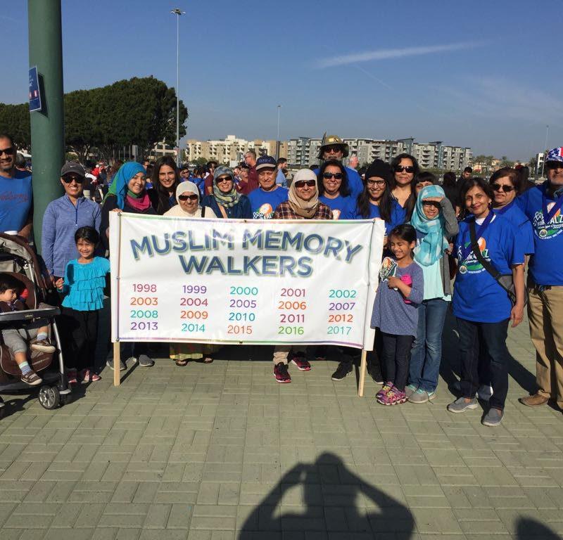 Muslim Memory Walkers – 20th Year Helping Fight Alzheimer's Disease