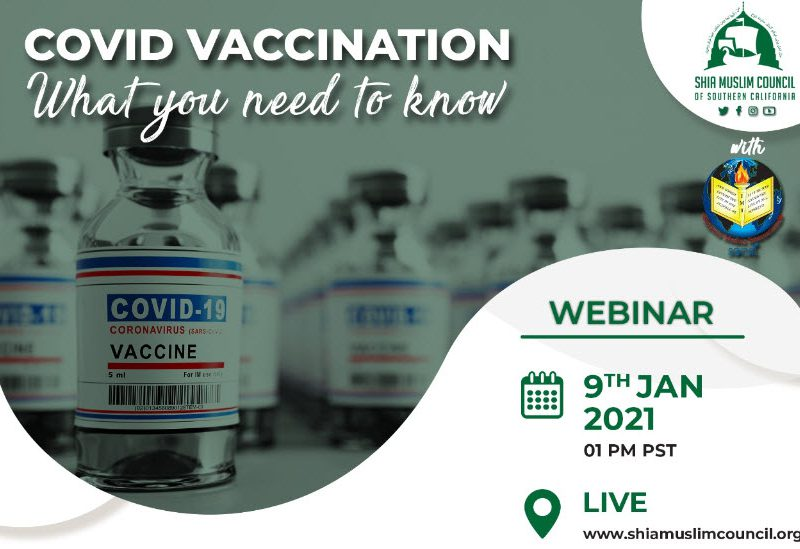 COVID Vaccination: What you need to know *Webinar*