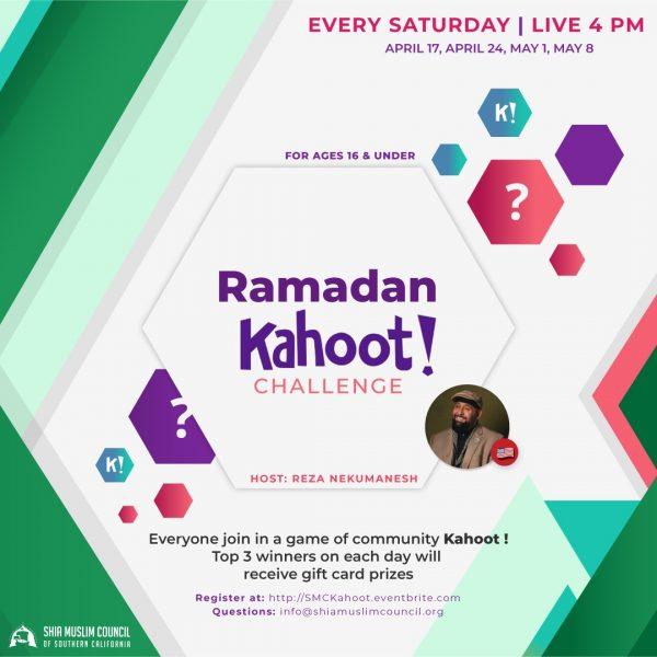 Ramadan Kahoot Challenge 2021