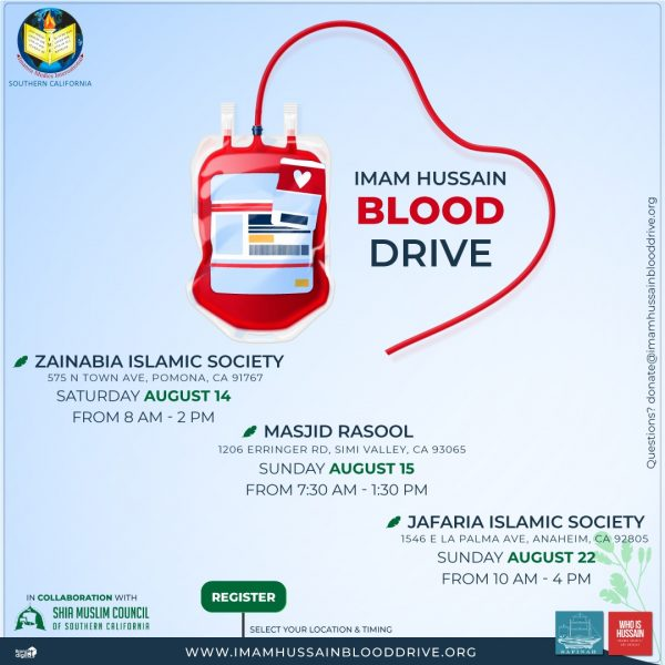 Imam Hussain Blood Drive