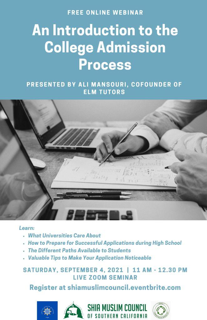 College Admission Process